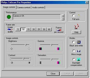 screenshot Philips software